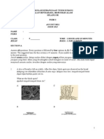 Science Year 5 Test 2 2011