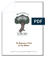 The Restoration of Torah
