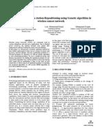 Dynamic Base Station Re Positioning Using Genetic Algorithm in Wireless Sensor Network