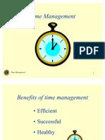 Good Presentation on Time Management