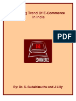 Emerging Trend of e Commerce in India