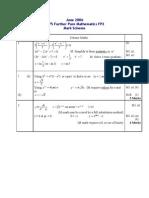 FP2 June 2006 Mark Scheme