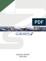 CESA Annual Report 2004- 2005