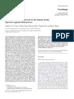 EEG Default Mode Network in the Human Brain