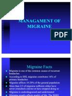 Managament of Migraine