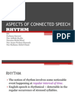 Aspects of Connected Speech -Rhythm