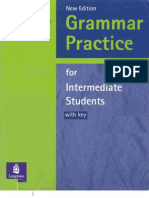 Grammar Intermediate Students