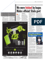 TheSun 2008-11-04 Page06 We Were Tricked by Bogus Matex Official - State Govt