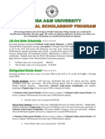 FAMU Scholarship 2012