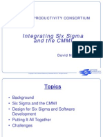 Integrating 6S and CMMi