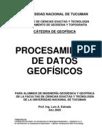 Procesamiento Datos Geofisicos