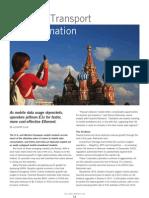 Tellabs Insight Magazine - Russia's Transport Transformation