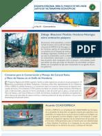 Boletín No. 1  Programa Regional de USAID para el Manejo de Recursos Acuáticos y Alternativas Económicas.
