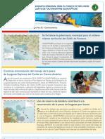 Boletín No. 2. Programa Regional de USAID para el Manejo de Recursos Acuáticos y Alternativas Económicas.