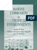 Marine Corrosion in Tropical Environments