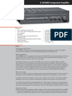 Data Sheet - C 325BEE Stereo Integrated Amplifier