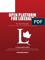 'Open Platform for Liberals' by Kyle Harrietha