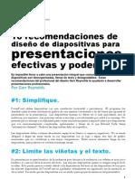 10 Recomendaciones Para Presentaciones Efectivas