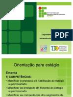 Orientação para estágio - Campus Recife