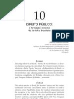 FORMAÇÃO HISTÓRICA DO TERRITÓRIO BRASILEIRO