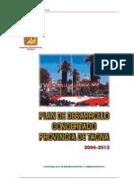 Plan Desarrollo Tacna 2004_2013