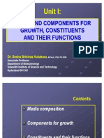 Unit I Media and Components for Growth