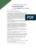Exemplo de Acordos Comunitarios