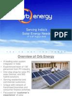 Orb Energy Solar