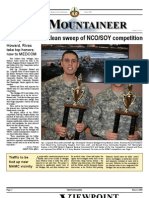 Mountaineer March 2008