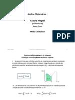 8.3 - Cálculo Integral
