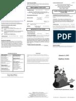 bulletin - 20120108