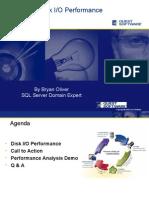 SQL 2005 Disk IO Performance