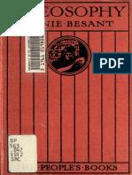 Annie Besant - Theosophy