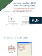 Transform Area de Vizualizare 2D