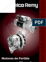 REMY Catalogo Alternadores Motores Partida 2010