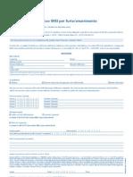 Modulo Blocco-Sblocco IMEI 20110413