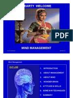 PROF. MADHAVAN - MIND MANAGEMENT FOR MBA