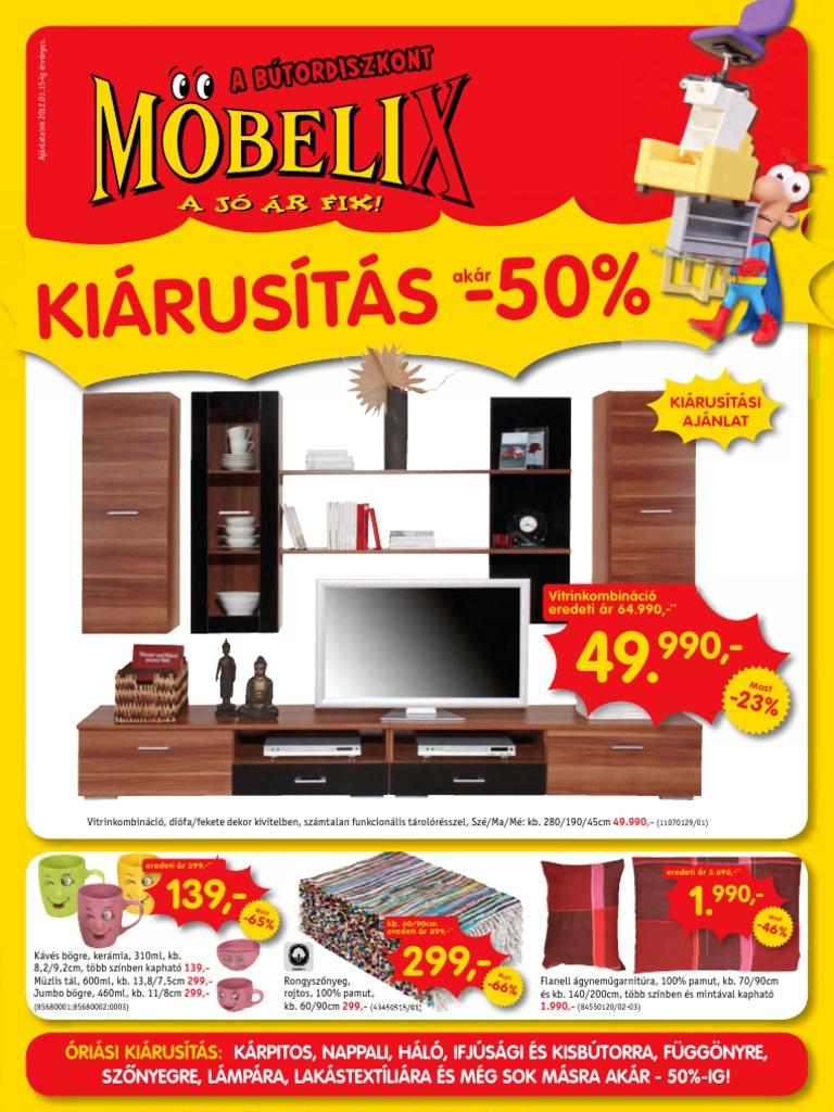 akciosujsag.hu - Möbelix, 2012.01.02-01.15