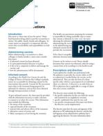 Influenza Vaccine Fact Sheet