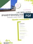 LE SOLAIRE PHOTOVOLTAïQUE POUR LES PARTICULIERS