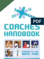 2012 Winter Games Coaches Handbook PRINT