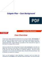 Colgate Plax Case Background