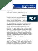 1- GERÊNCIA DOS SERVIÇOS DE ENFERMAGEM - TEXTO