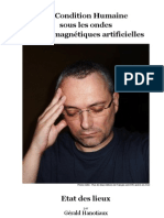La Condition Humaine Sous Les Ondes Electromagnetiques Artificielles Etat Des Lieux Gerald Hanotiaux 04 2010