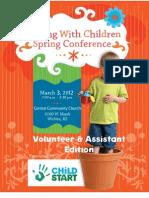 Volunteer GWC 2012 Registration Form