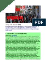 Noticias Uruguayas Jueves 5 de Enero de 2012