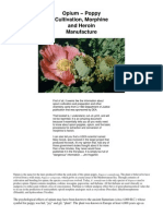 Opium - Poppy Cultivation, Morphine and Heroin Manufacture