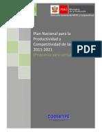 Propuesta Plan Mype 2011 2021