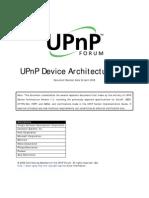 UPnP Arch Device Architecture v1.0 20080424