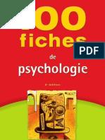 100fiche de psychologie